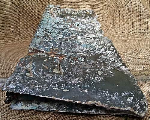 British Airfield refuse dump.