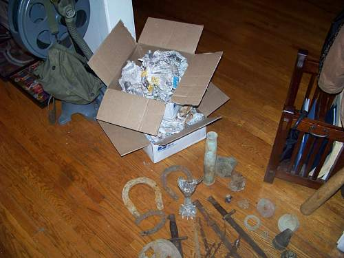 Relics from Normandy and Meuse Argonne