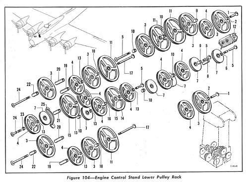 B-17 component
