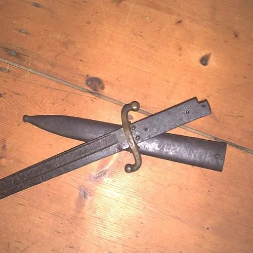 trench dagger or bajonet wwI?