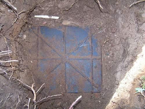 The Zahlmeister's box, found in Koenigsberg