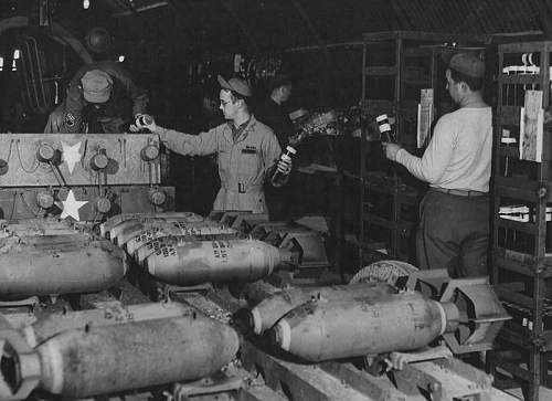 airfield  packing cases....