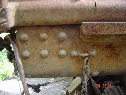 Anti tank gun found in Greece