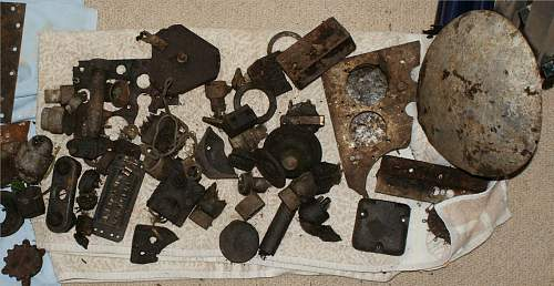 WW2 RAF Lancaster base - Dump discovered - Finds keep coming
