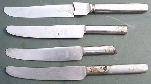 British Knives Forks And Spoons