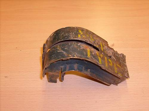 Link ejector chute from B-17 base