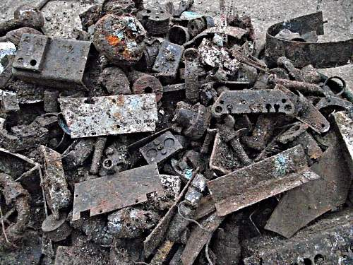 Plenty of finds from a new site on a British Airfield.