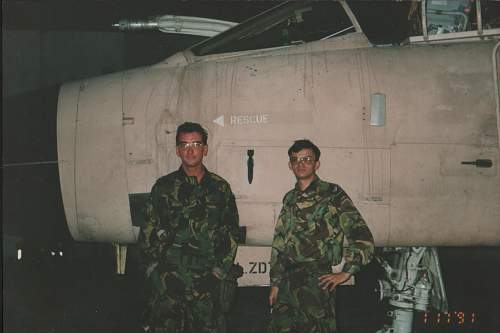 In Memory of the Crew of Tornado ZD809 Crashed 14th October 1999.