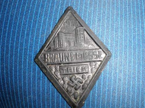 Two German Pins