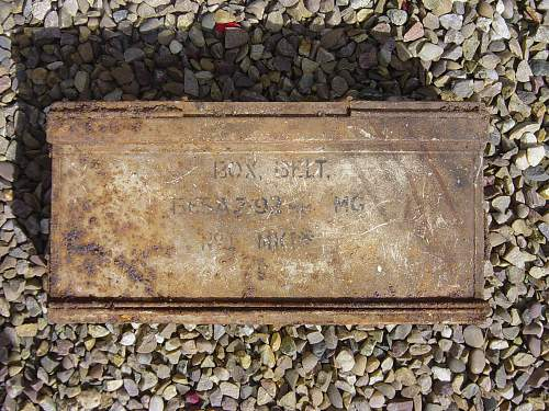RRPG dig - British Army Dump - 10th September 2011