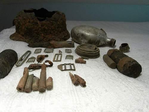 Normandy relics