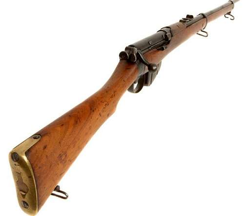 Click image for larger version.  Name:Rare Long Lee Military Rifle chambered in .303 1898.jpg Views:2 Size:18.7 KB ID:241258