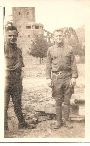 Pictures of Ludendorff Bridge from WW1