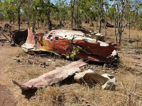 WW2 Bomber crash in Australia