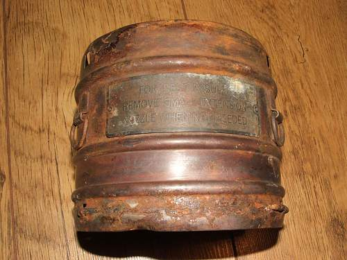 What is it? From WW2 USAF rubbish tip in UK