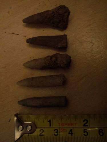 An interesting few finds from a Victorian rifle range