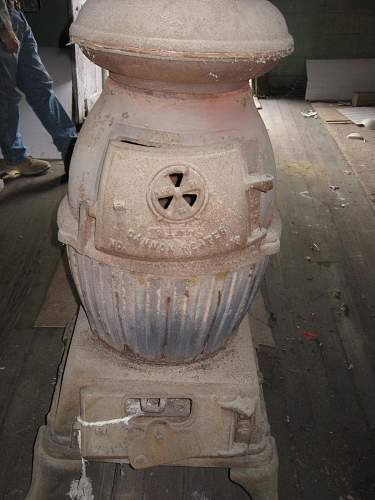 pot belly stove...