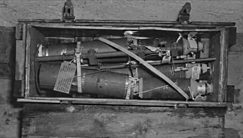Ground dug AN-M104 Nose impact fuse