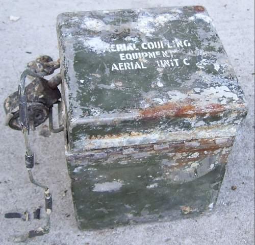 Mask anti-gas operator radio BEF
