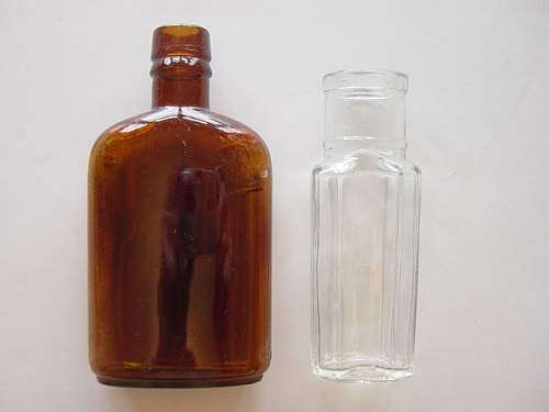 Bottles found at RAF Hednesford.jpg