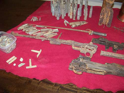 Normandy and Meuse Argonne relics out of storage