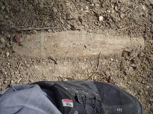 WW1 Battelfields of Verdun in 2011, whats still to been seen on sight only