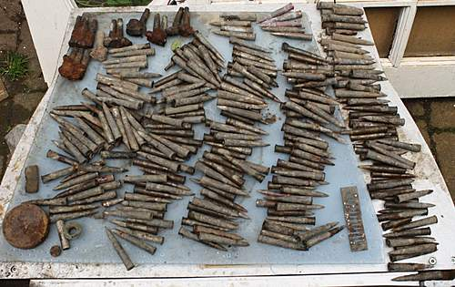 """WW1 .303 Inspection Rounds - the """"motherload"""""""
