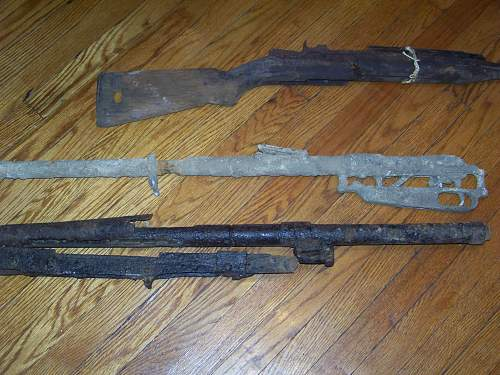 collection of relic weapons