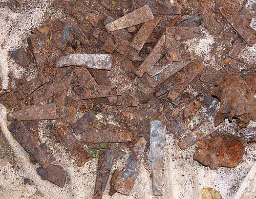 RRPG Club dig 19.08.12 'Army Dump'  Finds!