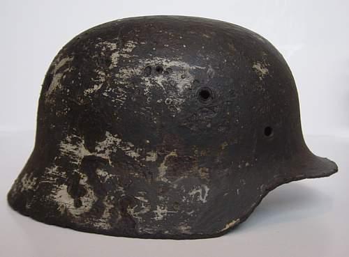 M35 Stahlhelm from Demjansk
