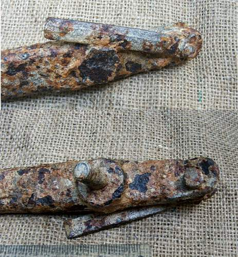 Normandy found.. Armour Relics?
