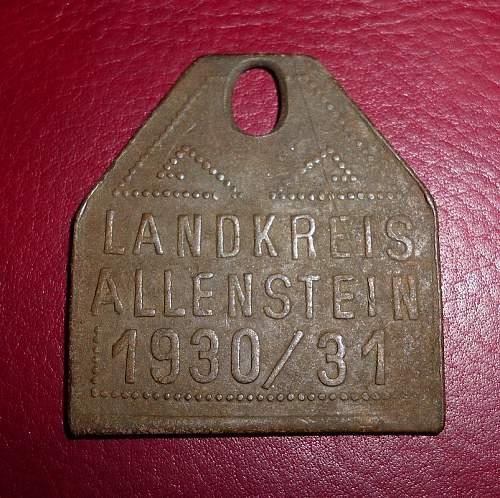 Digging in Ostpreussen