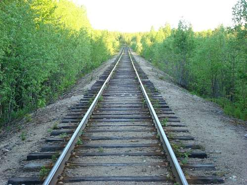 Louhi-Kiestinki railroad.Today.JPG
