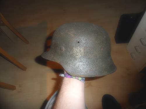 New Helmet and gasmask