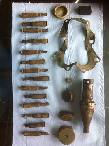 Artefact identification