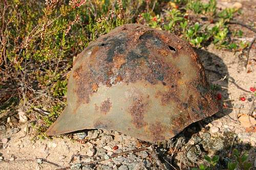 Warning graphic content: St George's search group:Karelian neck