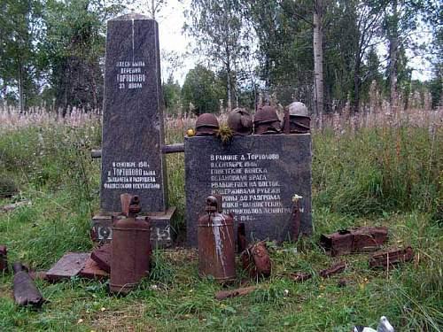Village Tortolovo, near Leningrad