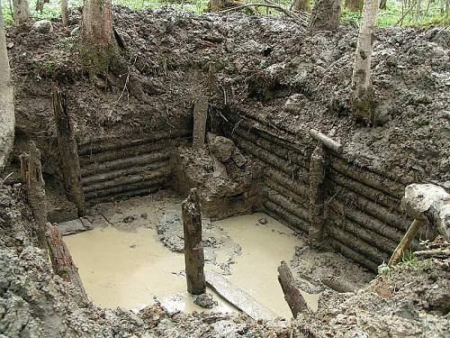 The bunker near Oranienbaum
