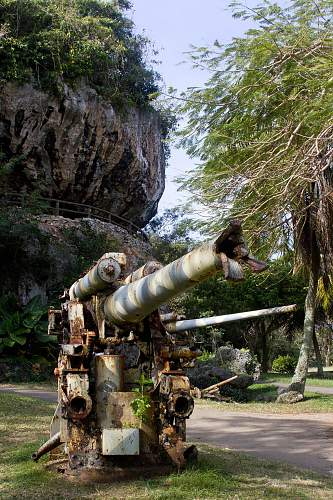 Pacific Theater - Relics and Battlefields from the Marianas Campaign