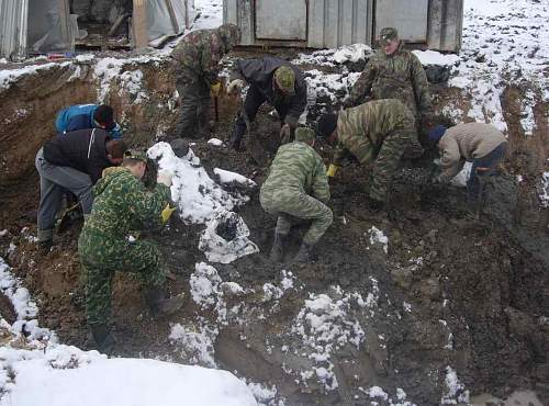 The Kolpino unknown communal grave found