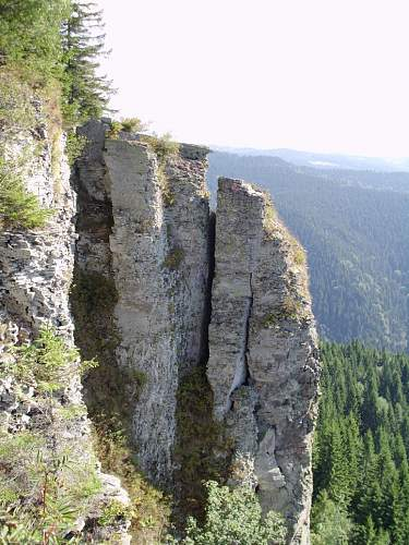 Metal detecting in eastern Carpathian mountains