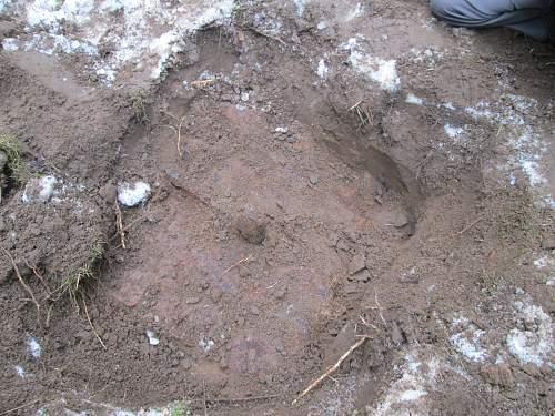Digging - Eastern front trip April 2013
