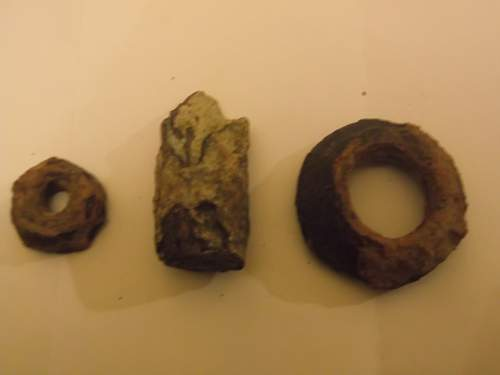 Three small relics from Eastern Germany
