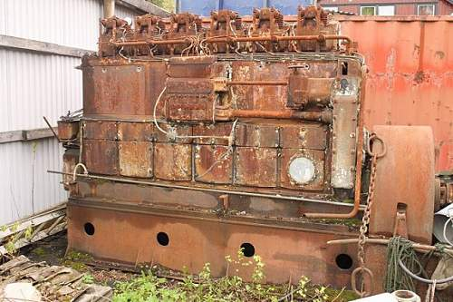 marine engine for sale from the TIRPITZ ?????