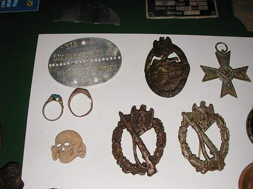 Some finds of last summer near ss camp
