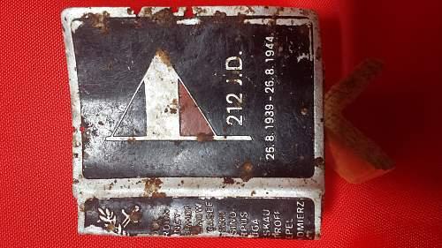 Match box Holder Alumium dedicated to the 212 I.D.