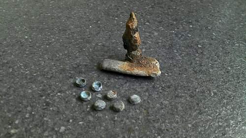 Relics from Atlantic wall in Denmark.