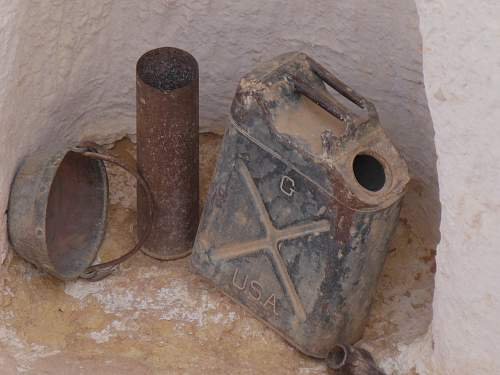 War relics in tunisia, summer 2013