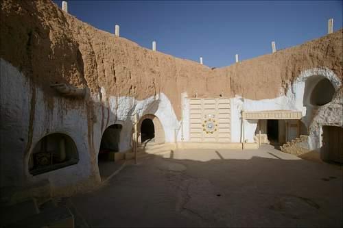 War relics in tunisia, summer 2013
