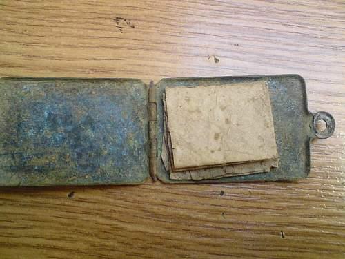 1914-1915 battlefield relics...
